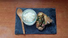 ¡Ajo y agua!: Pollo al curry con arroz y jengibre.