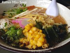 The Sisters' Duel of Miso Ramen Versions. Get a glimpse of the 5 sisters' versions of Ramen Miso Soup!
