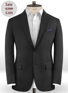 LUXURY SUPER 150/'s PURE WOOL LIGHT GREY PRINCE OF WALES CHECK MADE IN ITALY E1