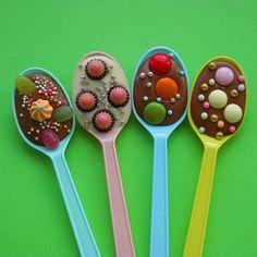 Chocola tante traktatie feest Pasen