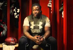 Interview with Champs Sports | Eddie Lacy Blog #underarmour #champs #football