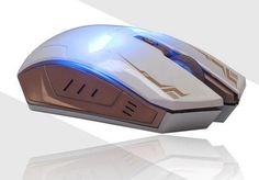 New Iron Man Mouse Wireless Mouse Gaming Mouse gamer Mute Button Silent Click 1200/1600 / 2400DPI Adjustable computer mice
