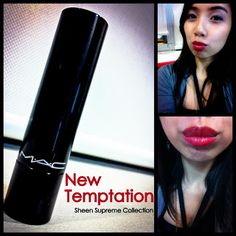 CHIxyLove: Make Up And Hair (MUAH) - MAC Over: New Temptation Sheen Supreme