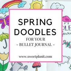 How to Draw Really Cute Doodles For Your Bullet Journal or ...