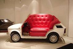 SOFA CAR by flakahoo, via Flickr