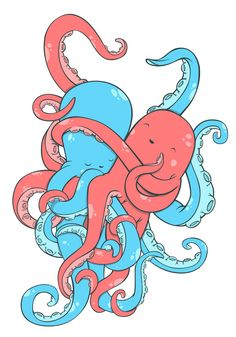 octopuses on Behance