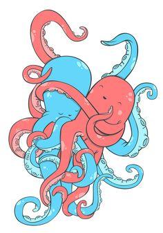 lovely loving octopi