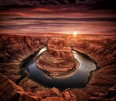 The Horseshoe Bend Photo by Gilson Geoffrey -- National Geographic Your Shot