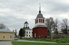 Kristiinankaupunki, Ostrobothnia province of Western Finland. Grave Monuments, Church Building, Graveyards, Westerns, Cathedral, Buildings, Mansions, House Styles, Finland