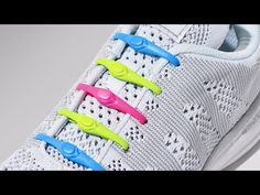 Hickies no tie shoelaces discovered by The Grommet. Never tie or untie your shoes again. An elastic lacing system to replace your shoelaces, they let you easily slip in and out of your sneakers while keeping them snug.