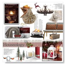 """Houseology Hygge Interiors Contest"" by desert-belle ❤ liked on Polyvore featuring interior, interiors, interior design, home, home decor, interior decorating, Lene Bjerre, Sterling, L.L.Bean and Couture Lamps"