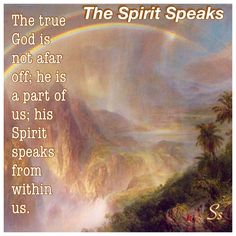 The Spirit Speaks. From The Urantia Book