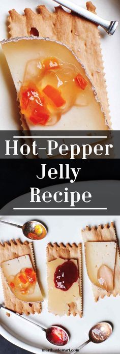 Pepper jelly makes a spicy-sweet match for soft cheeses, such as goat or Camembert (or even cream cheese) -- especially when served atop crackers or crostini. You can also use the jelly as a glaze for chicken or pork: Melt it, then brush it on the meat before roasting or after grilling.