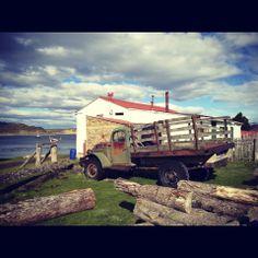 Ushuaia, Tierra del Fuego. Scouting de locaciones. Día 3,  Estancia Harberton Por aquí pasó mucha historia y éso se siente..