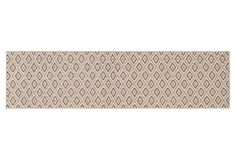 2'x8' Diamond Sisal-Blend Runner, Taupe on OneKingsLane.com