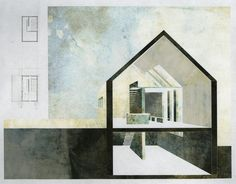 Architectural Drawing Design Nicole Marple, Capture to Catalog, Mixed Media - Architecture Presentation Board, Architecture Board, Architecture Drawings, Architecture Student, Architecture Details, Architectural Presentation, Presentation Boards, Planer Layout, Section Drawing