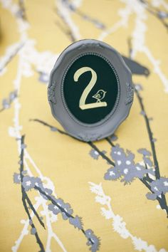 diy table numbers -- the whole wedding (richmond area) is fantastic as well