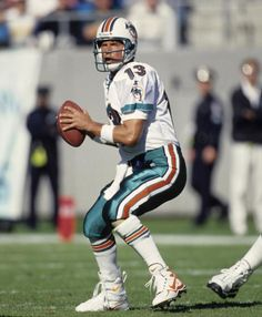 Dan Marino is considered by many to be the greatest quarterback in NFL history, recording the most fourth-quarter comebacks of anybody during his career in Miami (1983-1999). (National Football League)