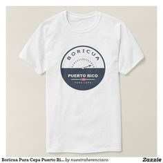 Boricua Pura Cepa Puerto Rico Meter Tee Shirt