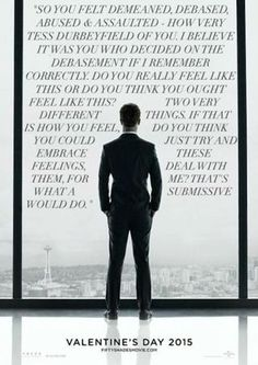 Fifty Shades of Grey abuse poster