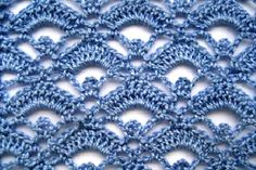 Tutorial on Open Work Stitch.  Step-by-step pictures and also written directions.