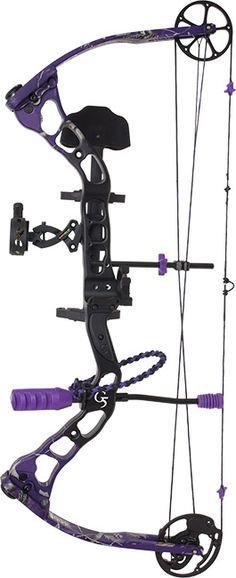 Purple Compound Bow