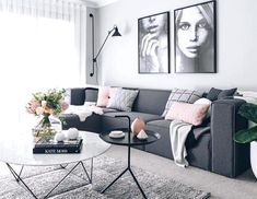 Living Room Colors, Living Room Paint, Living Room Grey, Living Room Carpet, Apartment Living, Rugs In Living Room, Living Room Designs, Grey Room, Apartment Ideas