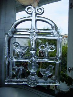 Vintage Swedish  Big Kosta Boda glass window decoration designed by Bertil Vallien by AnnChristinsVintage on Etsy