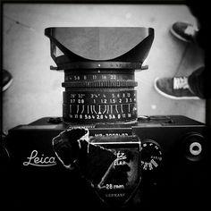 Bruce Gilden's Leica