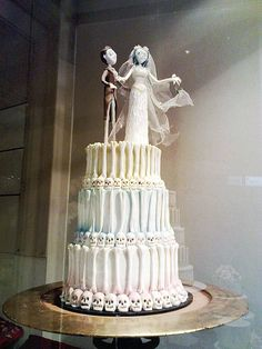 Corpse Bride Cake from movie made real  then money for doing this on my wedding ;D shall I?