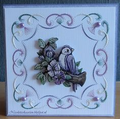Nicolette's kaarten Embroidery Cards, Edge Stitch, String Art, Pattern, Christmas, Paper Envelopes, Cards, Needlepoint, Owls