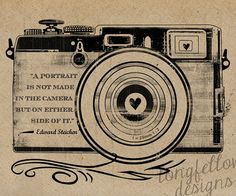 Will be buying this for my office soon. Edward Steichen Quote Retro Camera Kraft / by Longfellowdesigns, $20.00