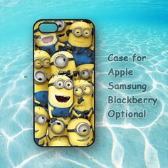 minions on for iphone 5 case iphone 4 case ipod 4 ipod by HaHaCase, $14.68