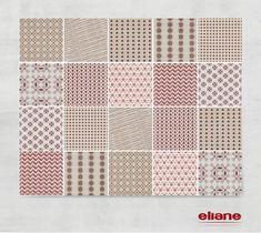 Patchwork Grafismo #revestimento #azulejo #tile