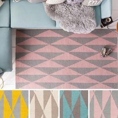 Shop for Hand-Tufted Pali Wool Rug (5' x 7'6). Get free shipping at…