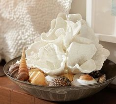 Faux White Wave Coral #potterybarn