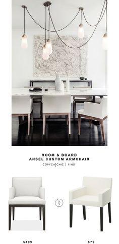 Room & Board Ansel Custom Armchair | Copy Cat Chic | Bloglovin'