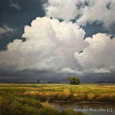 Renato Muccillo oil painting on panel