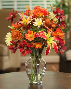 fall flowers for weddings | Get Ready For Fall With Silk Perennial Autumn Accent | Artificial ...