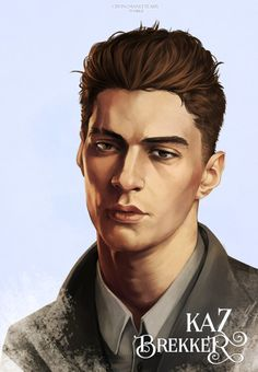 Six of Crows | Kaz Brekker  Matthias | Nina | Inej  I know I picked a somewhat predictable reference photo if you glance in the tag longer than ten seconds but honestly I've never seen anyone that looks just as I picture him but that might be because I...