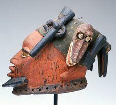 Yoruba Egungun Mask, Egba - Abeokuta, Nigeria