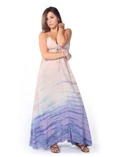 Gypsy05 Taylor Maxi Dress in Purple/Pink £60