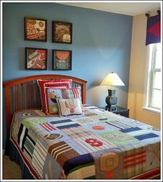 1000 images about boy bedroom ideas on pinterest boy for Boy sports bedroom ideas