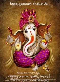 Lord Ganesha is one of the most popular Hindu deity. Here are top Lord Ganesha images, photos, HD wallpapers for your desktop and mobile devices. Arte Ganesha, Jai Ganesh, Ganesh Lord, Shree Ganesh, Ganesha Drawing, Lord Ganesha Paintings, Shri Ganesh Images, Ganesha Pictures, Ganpati Bappa Wallpapers