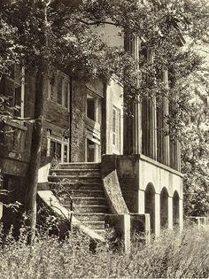 The Hermitage, built circa 1820 and demolished 1930s  Savannah, GA