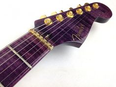 Fender Stratocaster Purple Reign Fender Stratocaster, Fender Guitars, Purple Guitar, Taylor Guitars, Guitar Painting, Fender Custom Shop, Easy Guitar, Guitar Collection, Beautiful Guitars