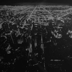 Get HD Wallpaper: http://ipapers.co/mm57-chicago-night-sky-city-dark-bw/ mm57-chicago-night-sky-city-dark-bw via http://iPapers.co - Wallpapers for all Apple