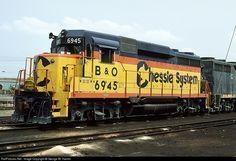RailPictures.Net Photo: B&O 6945 Baltimore & Ohio (B&O) EMD GP30 at Alexandria, Virginia by George W. Hamlin