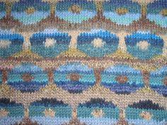 Ravelry: Project Gallery for Persian Poppy Waistcoat pattern by Kaffe Fassett