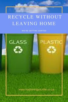 Recycling is easier than you think! Leaving Home, Working Woman, Thinking Of You, Recycling, Leaves, How To Make, Life, Thinking About You, Upcycle